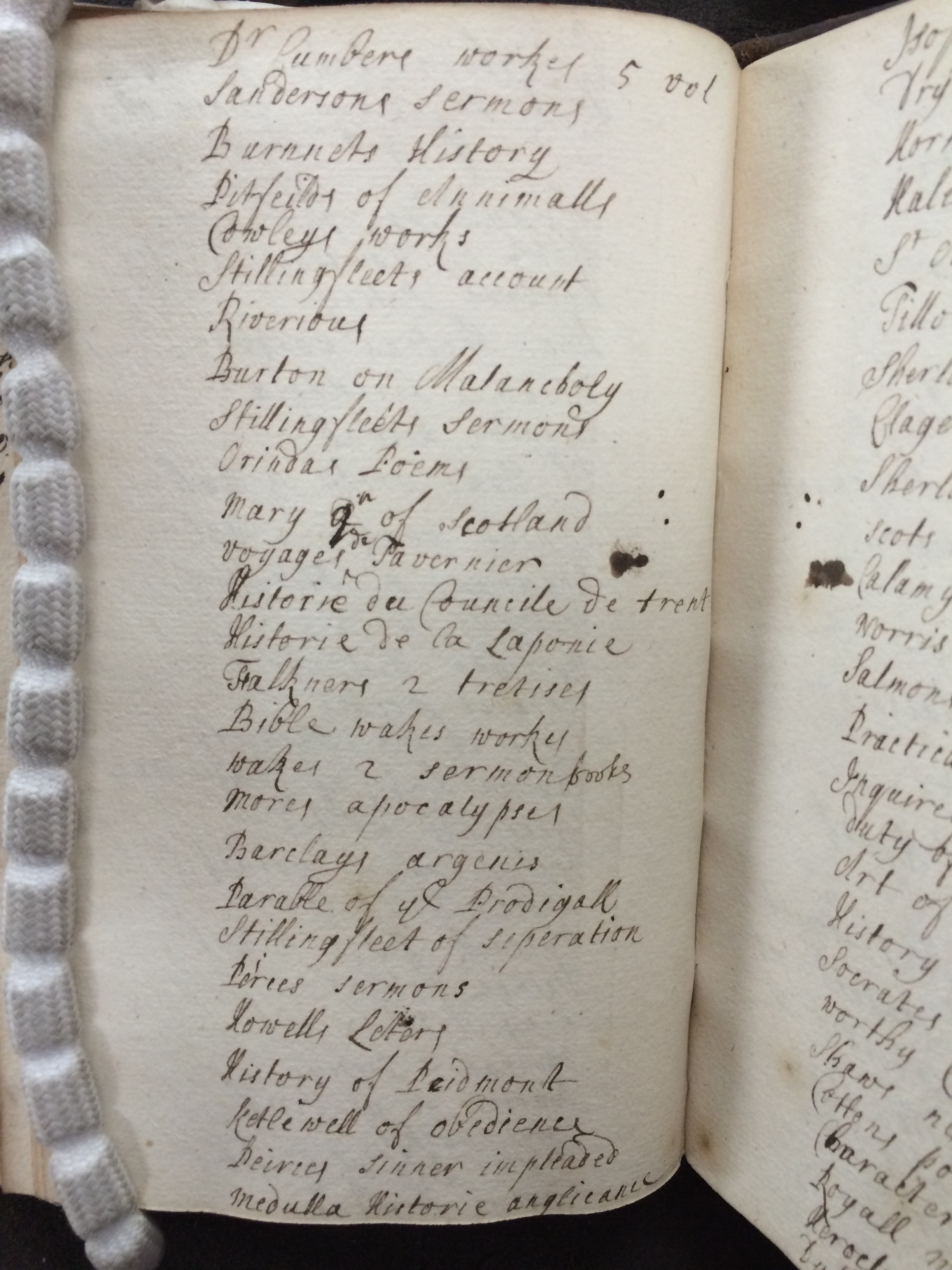 Bennet Catalogue, (1699), © The National Archives, C104/82