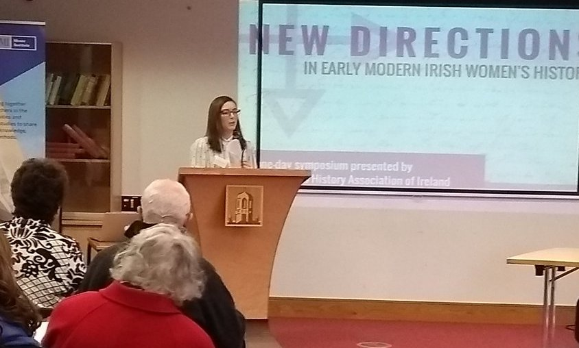 Bronagh McShane welcoming participants to the colloquium.